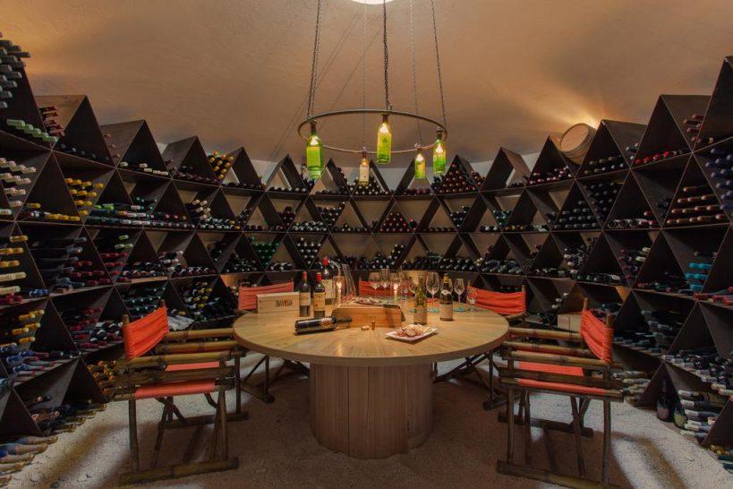 Soneva Fushi Wine Cellar