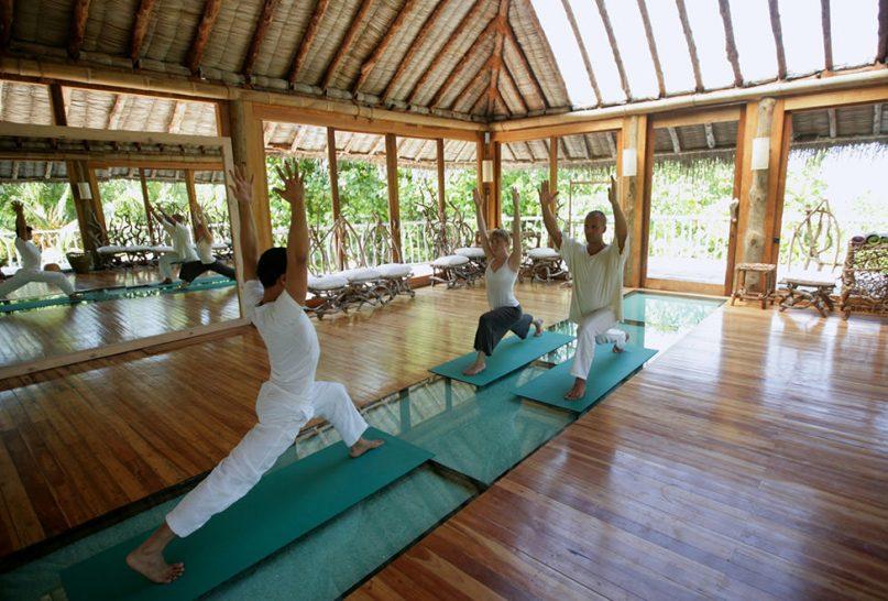 Soneva Fushi Yoga Class