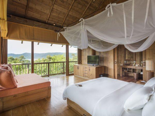 Soneva Kiri Private Cliff Pool Reserve 5BR (V.33) Guest bedroom3 seaview by Asit Maneesarn