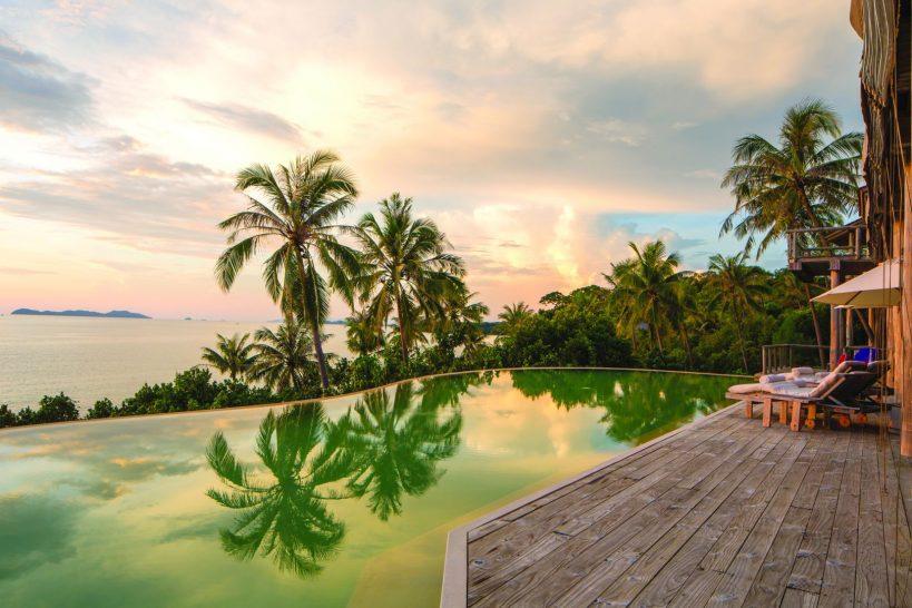 Villa 63 Pool deck by Richard Waite