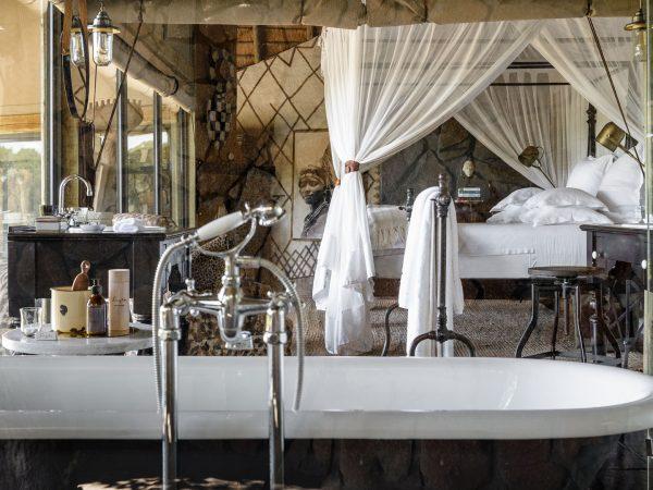 Singita Ebony Lodge Bathtub
