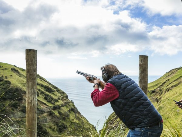 cape kidnappers clay bird shooting