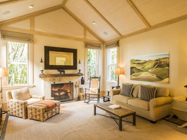 cape kidnappers owners cottage guest wing study