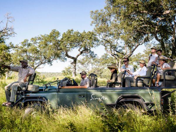 Singita Ebony Lodge Jeep Safari