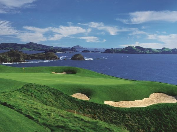 kauri cliffs golf hole