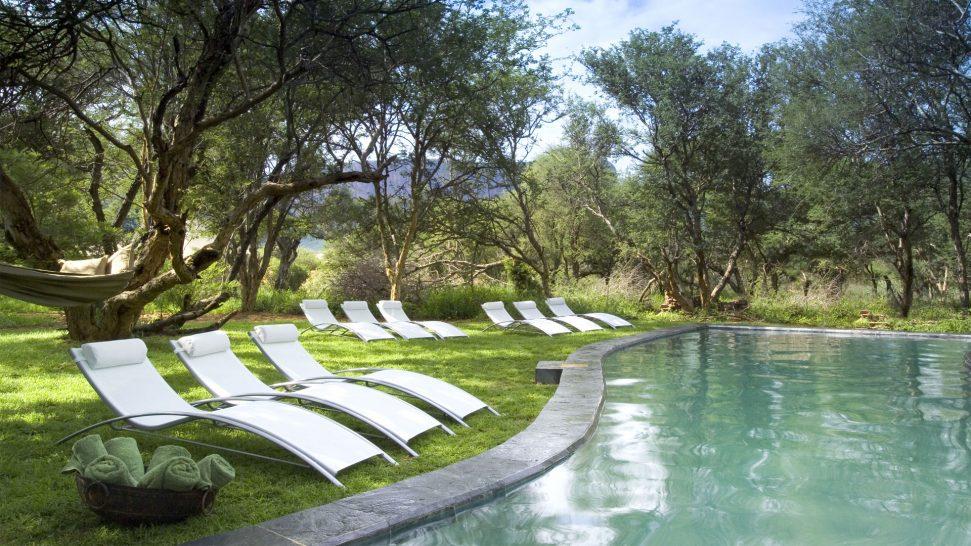 Marataba Safari Lodge Pool Area