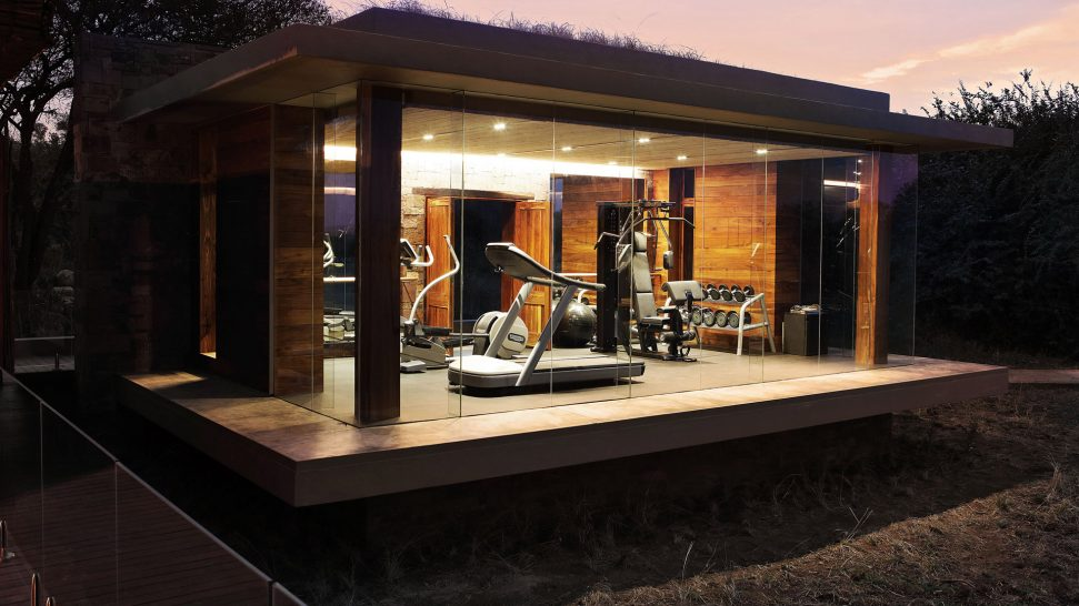 Singita serengeti house gym