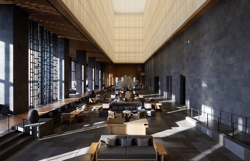 Aman Tokyo Lobby