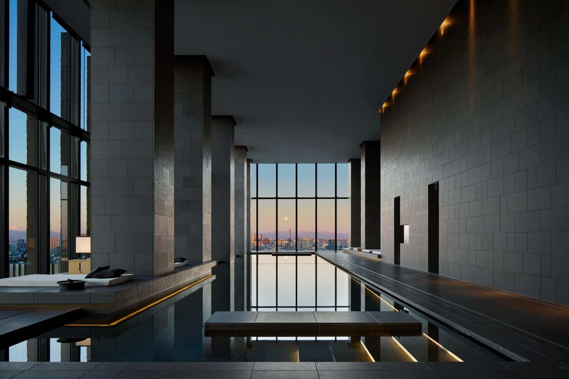 Aman Tokyo Spa Swimming Pool