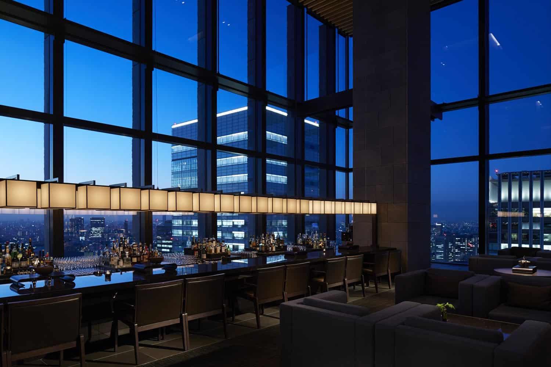 Aman Tokyo bar