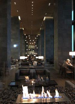 Aman Tokyo lobby bar