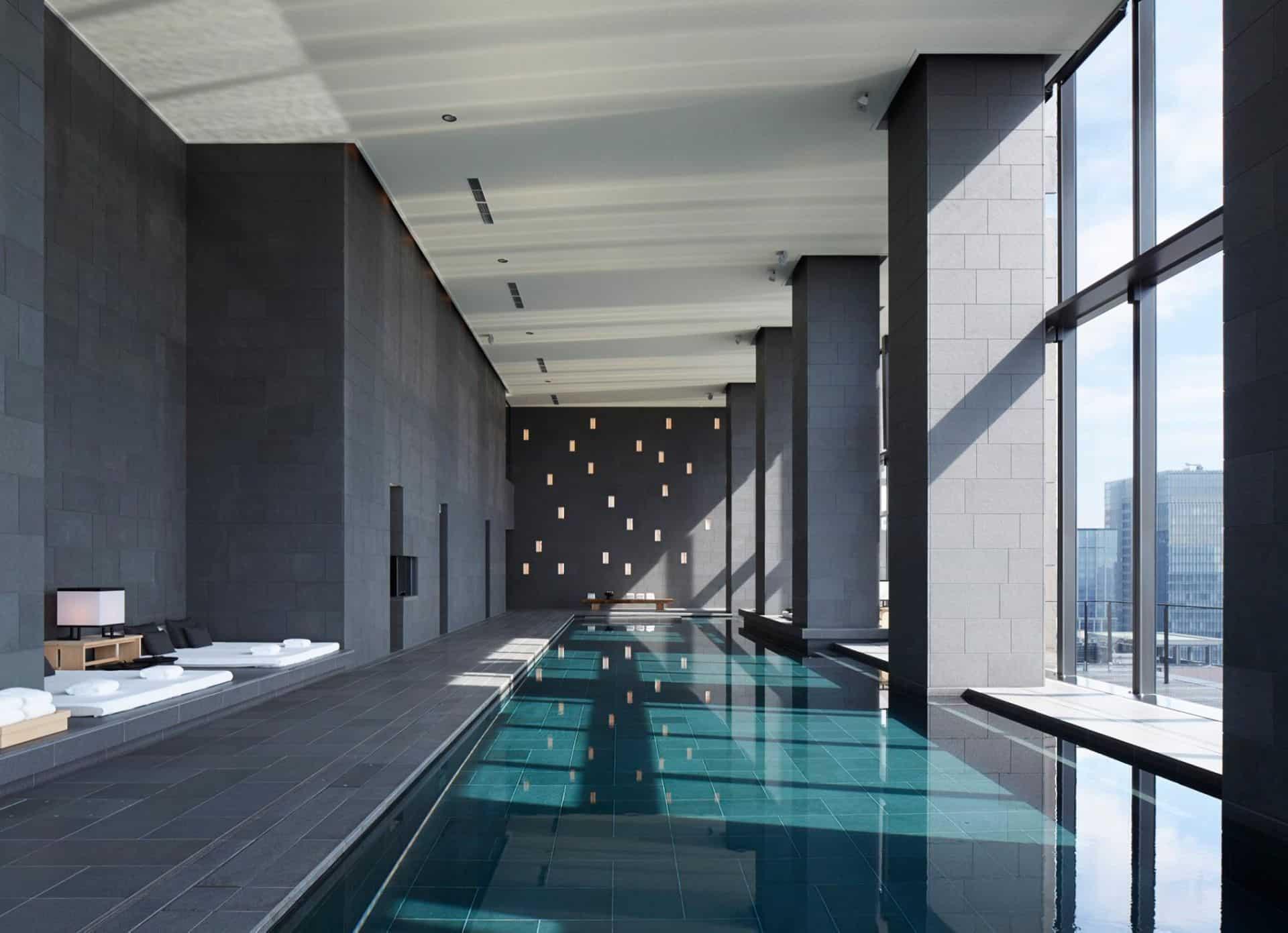 Aman Tokyo pool