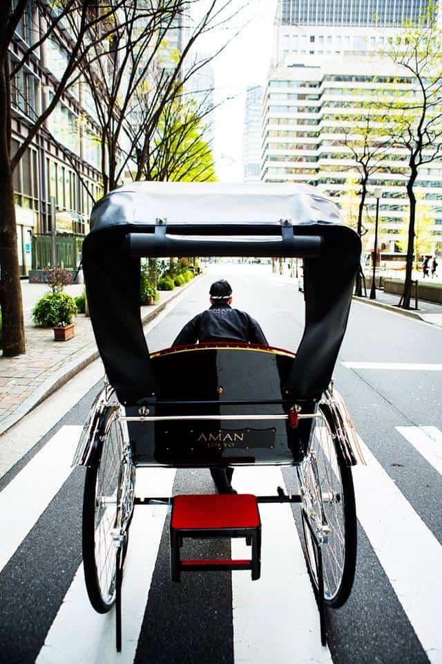 Aman Tokyo rickshaw