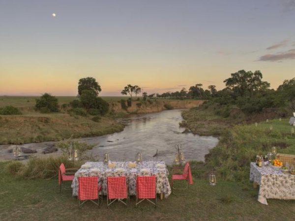 AndBeyond Bateleur Camp Dining