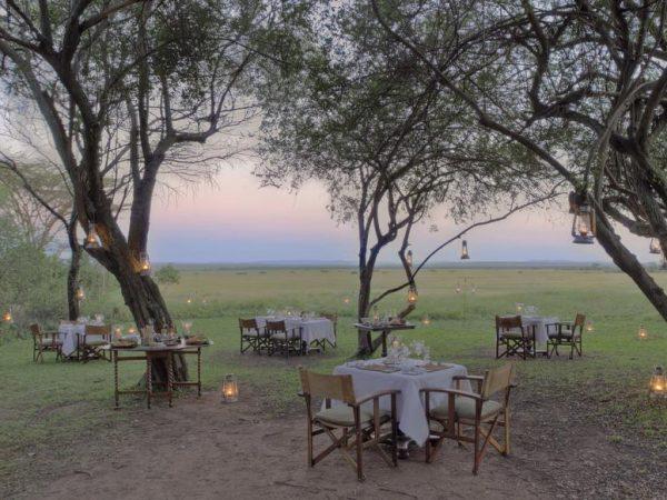 AndBeyond Bateleur Camp Dining Experience