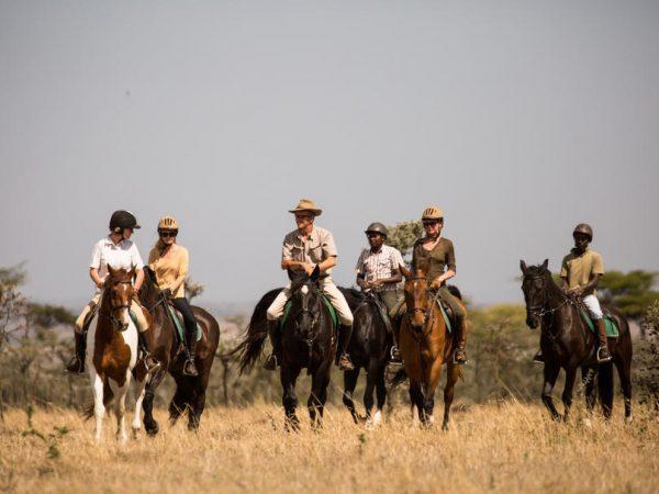 AndBeyond Bateleur Camp Explore the Mara n Horseback