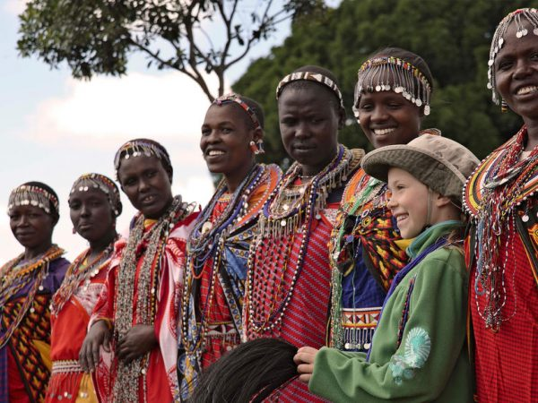 AndBeyond Bateleur Camp Maasai Village Visit