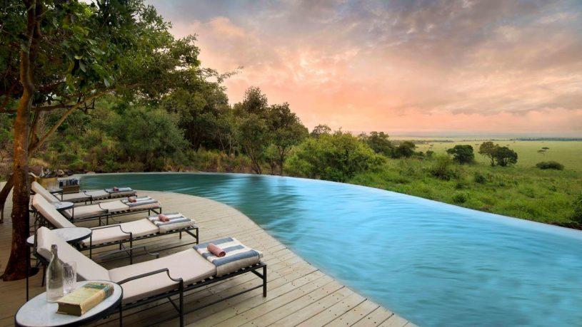 AndBeyond Bateleur Camp swimming-pool