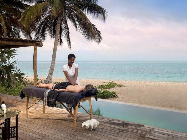 AndBeyond Benguerra Island massage