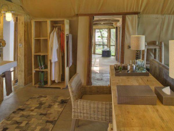 AndBeyond Grumeti Serengeti Tented Camp room