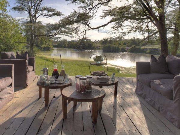 AndBeyond Grumeti Serengeti Tented Camp Dining