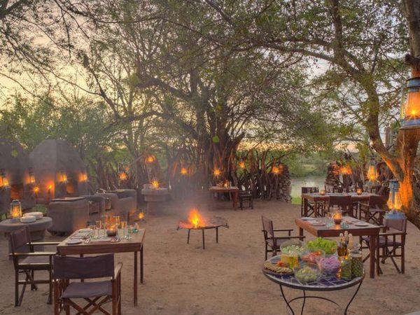 AndBeyond Grumeti Serengeti Tented Camp Panorama