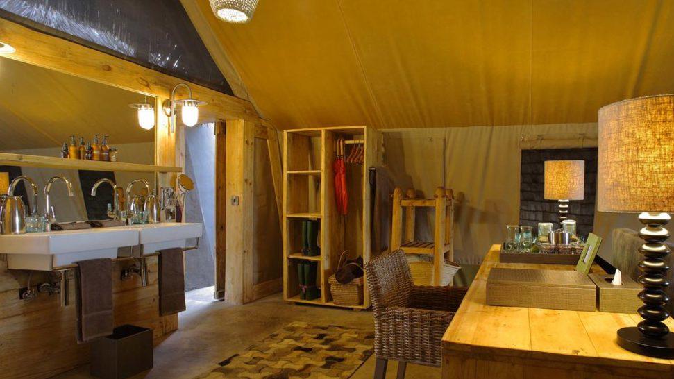 AndBeyond Grumeti Serengeti Tented Camp Panorama room