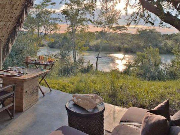 AndBeyond Grumeti Serengeti Tented Camp Common area