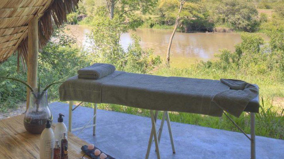AndBeyond Grumeti Serengeti Tented Camp spa