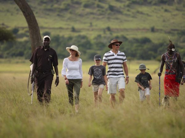 AndBeyond Kichwa Tembo Tented Camp Walking