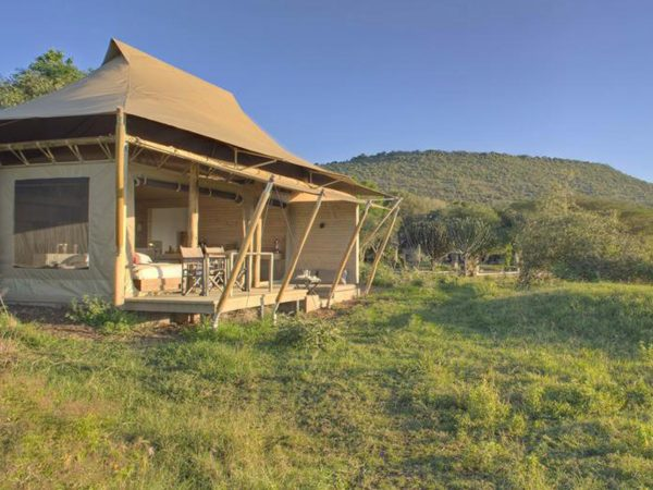 AndBeyond Kichwa Tembo Tented Camp room