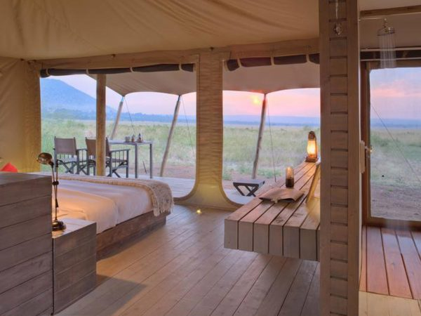 AndBeyond Kichwa Tembo Tented Camp Superior View Tent