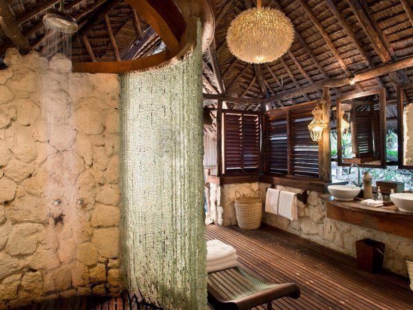 AndBeyond Mnemba Island Lodge bathroom