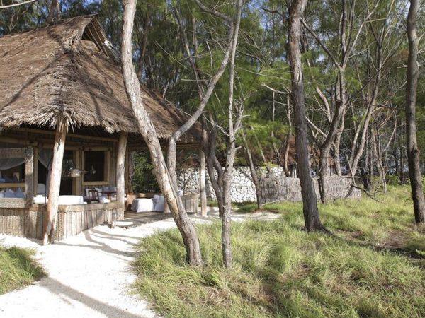 AndBeyond Mnemba Island Lodge family banda