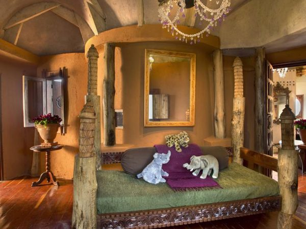 AndBeyond Ngorongoro Crater Lodge room view