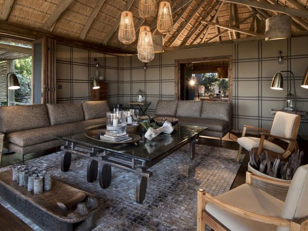 AndBeyond Nxabega Okavango Tented Camp Common Area