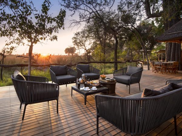 AndBeyond Nxabega Okavango Tented Camp CommonArea tent