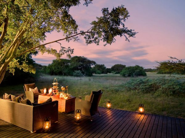 AndBeyond Phinda Forest Lodge Deck