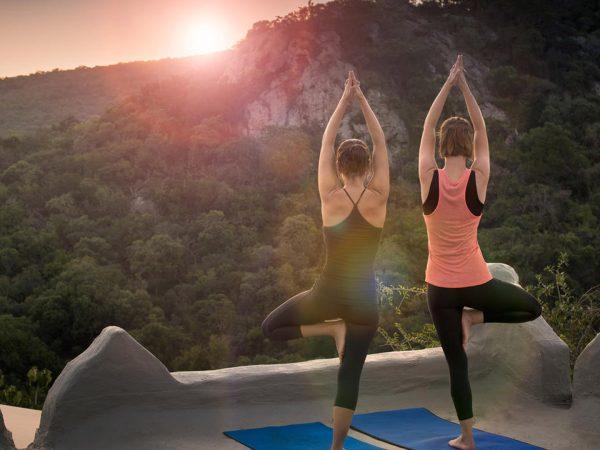 AndBeyond-Phinda-Rock-Lodge-sunset-Yoga