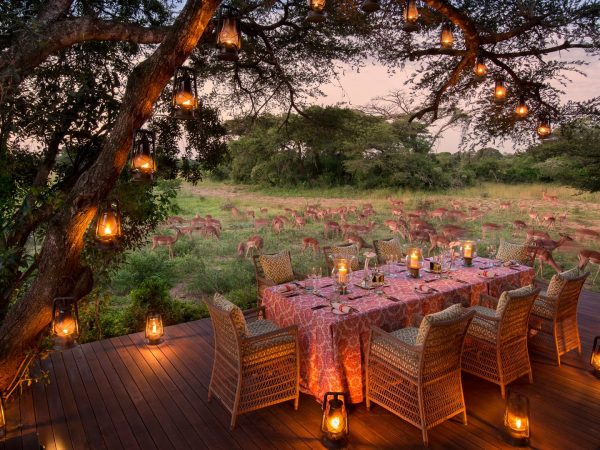 AndBeyond Phinda Vlei guest-area-dining-outdoor-dinner