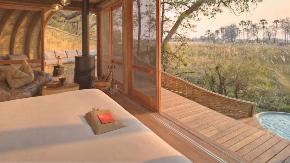 AndBeyond Sandibe Okavango Safari Lodge Ensuite bedrooms