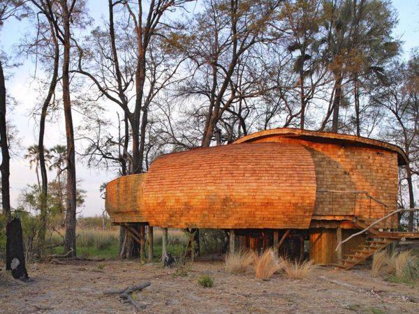 AndBeyond Sandibe Okavango Safari Lodge Family Suit View