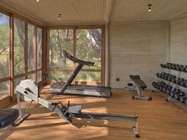 AndBeyond Sandibe Okavango Safari Lodge Gym