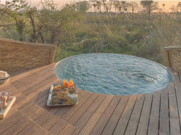 AndBeyond Sandibe Okavango Safari Lodge Pool