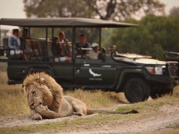 AndBeyond Sandibe Okavango Safari Lodge Private Vehicle