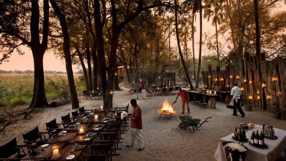 AndBeyond Sandibe Okavango Safari Lodge Restaurant