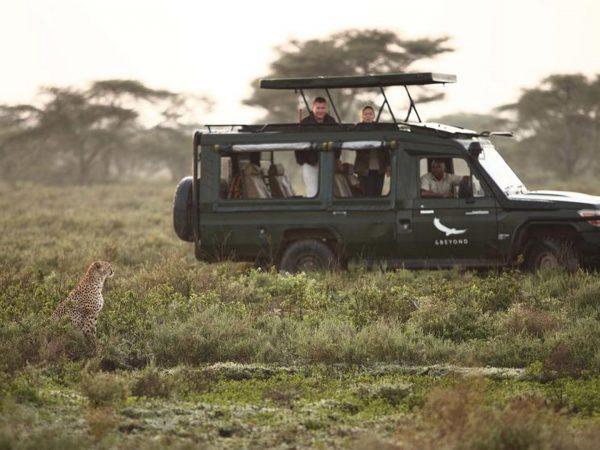 AndBeyond Serengeti Under Canvas games