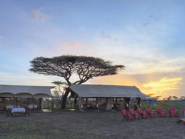AndBeyond Serengeti Under Canvas outside area