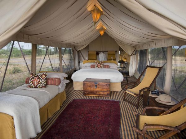 AndBeyond Serengeti Under Canvas tent double