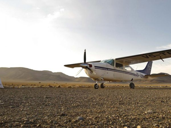 AndBeyond Sossusvlei Desert Lodge arrival